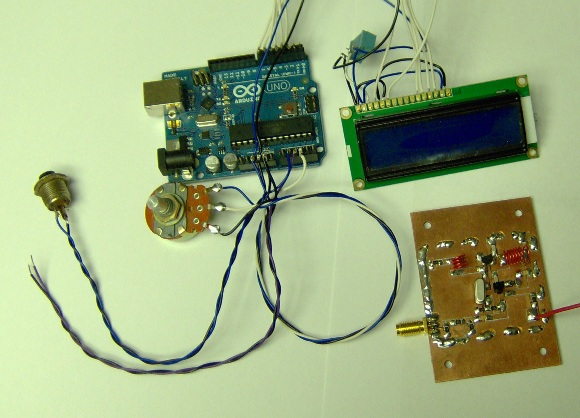 Arduino and first local oscillator
