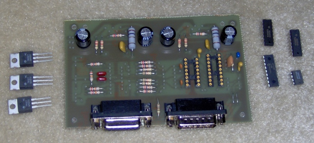 DTS circuit board