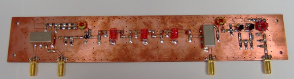 Assembled mixer board