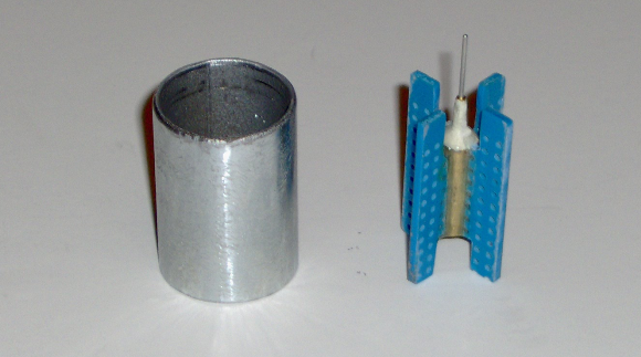 Air-core movement bobbin assembly