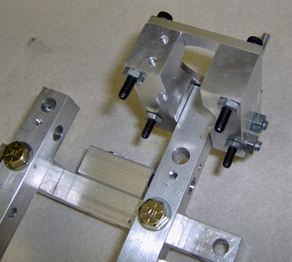 CNC Z-axis motor mount