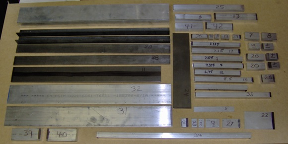 Metal bar stock for CNC project