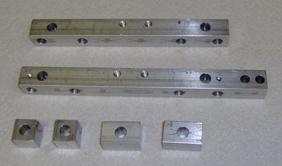CNC project carriage parts.