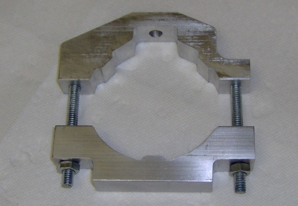 Router mounting clamp