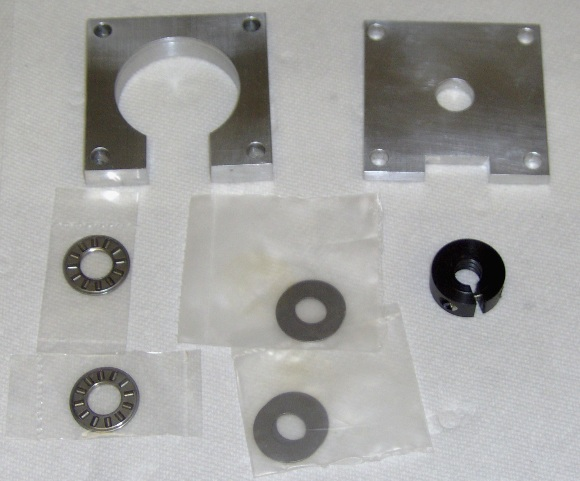 Z axis thrust bearing parts