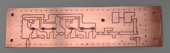 IF amp and detector board