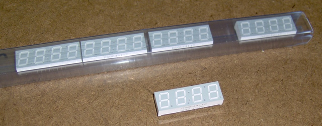 Multi-digit 7-segment LED display