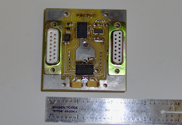 Assembled air-core driver circuit board
