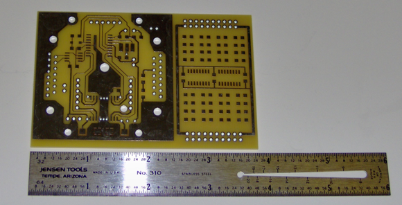SMD prototype circuit board
